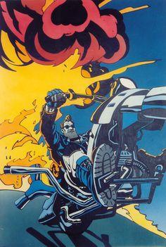 Full Throttle poster illustration