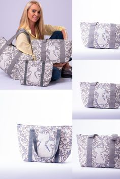Limited edition handmade canvas utility bags made with love for you to enjoy