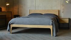 here we investigate Industrial Look bedroom design and see how products from Natural Bed company can help you creat a stylish, industrial look space. Timber Beds, Oak Beds, Wood Bedroom Furniture, Furniture Design, Scandinavian Style Bedroom, Rustic Wood Headboard, Retro Bed, Bed Company, Cool House Designs