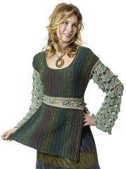 Ravelry: Baroque Tabard Tunic pattern by Vashti Braha