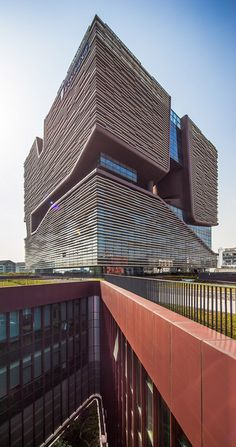 Xi'an Jiaotong-Liverpool University Administration Information Building by Aedas #architecture ☮k☮