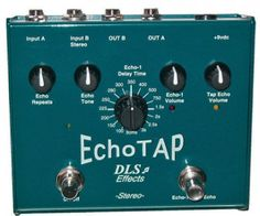 DLS Effects EchoTap http://www.area22guitars.com/pedals/dls/dls-effects-echotap.html