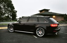 Black Audi Allroad