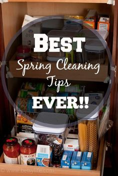 Greatest Cleaning Tricks Ever! Just in time for spring cleaning!