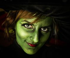 wicked witch wizard of oz costume makeup by: Cole Photography