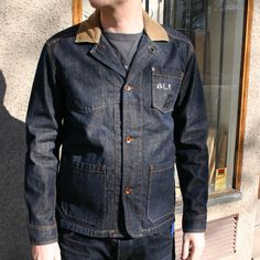 Edwin - Blitz Garage Jacket Rinsed - Sivletto & Unionville – clothes and stuff for a lifestyle deluxe - rockabilly, hot rod, swing, retro, t...