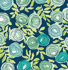 Retro Rose Wrapping Paper x 6 Ft Flat Wrap - Holiday - Birthdays Textile Prints, Textile Patterns, Color Patterns, Print Patterns, Textiles, Floral Prints, Pattern Art, Pattern Design, Retro