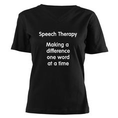 Speech Therapy - making a difference one word at a time.