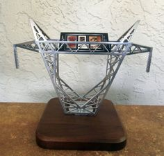 TNT | Transmission Tower Top Business card holder. See at www.etgiftstore.com