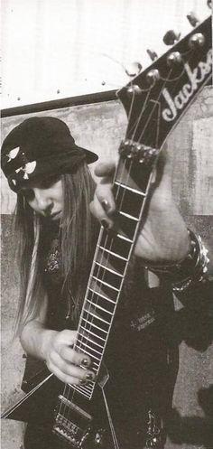 Guitar god: Alexi Laiho of Children of Bodom