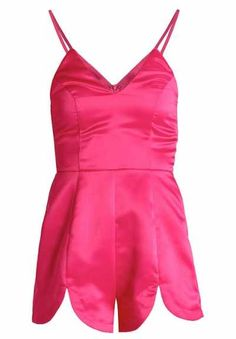 Missguided Mono Hot Pink monos ropa Pink Mono Missguided Hot Noe.Moda