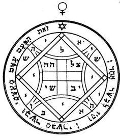 The Fourth Pentacle of Venus