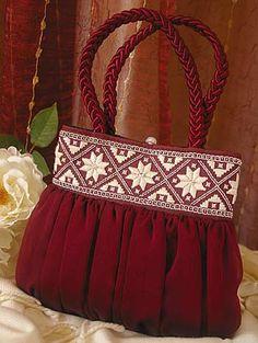 Hardanger Embroidery Bag