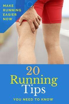 20 Running Tips You Need to Know - great running tips for beginners (and beyond) to make running easier #runningtips #running #runningadvice