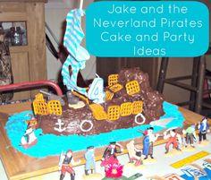 Jake and the Neverland Pirates Cake Tutorial and Party Ideas {Guest Post} | Go Graham Go: Parenting | Recipes | DIY | Brand Ambassador | Product Reviews | NC Mom Blog
