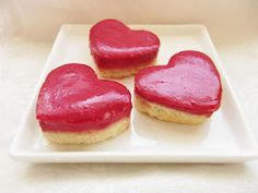 Heart-Shaped Cranberry bars