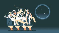 In our latest film for the Royal Observatory Greenwich, director Amael Isnard illustrates Newton's 3 Laws of Motion with some lovely 2D animation and astronauts Bella, Isaac, Neeva and Max.