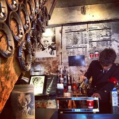 The Coffee Lab Express in Hongdae (South Korea) | Must try their Mad Scientist Coffee Blend! #bucketlist | (photo credit: EYK)