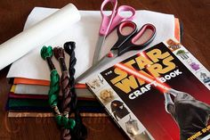 There's a Star Wars craft book?  I must have this! ;)