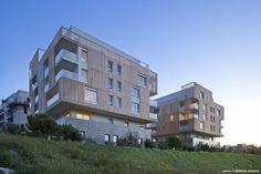 Greensquare dwellings - Flint Architects