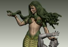 Medusa ; Victorius , Ehren Bienert on ArtStation at https://www.artstation.com/artwork/yQNNR