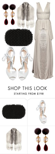 """Sin título #1420"" by meelstyle ❤ liked on Polyvore featuring Santi, Vionnet, Gucci and Chanel"