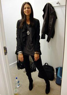 Stacy London Fashion Lookbook: What Not To Wear: TLC - I just want to put her in my closet.