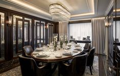 News and Trends from Best Interior Designers Arround the World Martin Kemp, Luxury Dining Room, Top Interior Designers, Best Interior, Table Settings, Architecture, Design Trends, Inspiration, Interiors