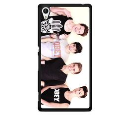 Jc Caylen Ricky Dillon Kian Lawley And Connor Franta TATUM-5839 Sony Phonecase Cover For Xperia Z1, Xperia Z2, Xperia Z3, Xperia Z4, Xperia Z5