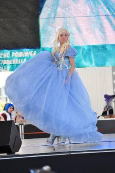 Cinderella cosplay sam kornell