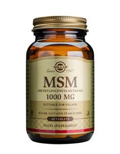 Solgar Msm Tablets 1000mg X 60 MSM is a source of organic sulfur which is important in the formation of collagen http://www.MightGet.com/january-2017-11/solgar-msm-tablets-1000mg-x-60.asp