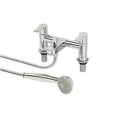 Alert Bathtub Faucets Luxury Silver Brass Bathroom Rain Handheld Shower Double Handle Ceramics Telephone Type Bath Mixer Tap As Effectively As A Fairy Does Shower Faucets Shower Equipment