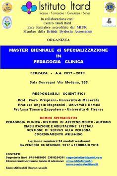 A2DA: 2 POST MASTER BIENNALE DI SPECIALIZZAZIONE IN PEDA...