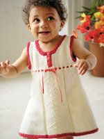 Free Knitting Pattern - Toddler & Children's Clothes: Sundae Girl Dress