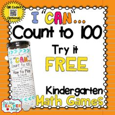 Counting to 100 Game FREE