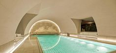 Indoor Pool in the former vault Hotel Pool, Hotel S, Luxury Travel, Luxury Hotels, Five Star Hotel, Vaulting, Diving, Spa, Relax