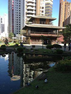 Praça do Japão em Curitiba, PR