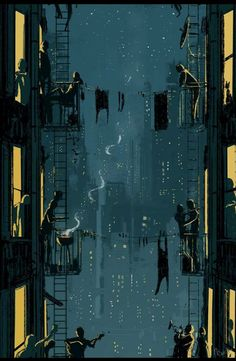 Kai Fine Art is an art website, shows painting and illustration works all over the world. City Art, Wow Art, Anime Scenery, Aesthetic Art, Pixel Art, Amazing Art, Fantasy Art, Concept Art, Art Photography