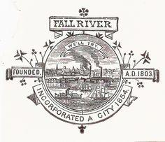 Seal of Fall River, Massachusetts (1906)