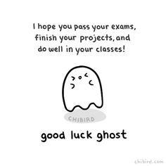 Good Luck Ghost Animation