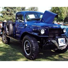 Dodge power wagon 1946 got this same truck in the back yard just sitting there rotting away