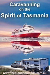 Tips for taking your caravan on The Spirit of Tasmania www.theblondenomads.com.au