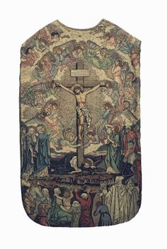 Chasuble, back  French  Design: Joannès Coquillat  Production: J.A. Henry, Lyon  Date: 1897 (design)