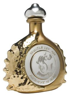 $3,500,000.00 most expensive bottle of Tequila in the world Pasion Azteca, Platinum Liquor Bottle by Tequila Ley .925  Each one of the limited-edition expensive tequila bottles, which resemble a barbed sea shell and are engraved by Alejandro Gomez Oropeza, a Mexican artist, are filled with Pasion Azteca tequila, made from pure sap of the blue agave plant that has been fermented, distilled, and aged  six years