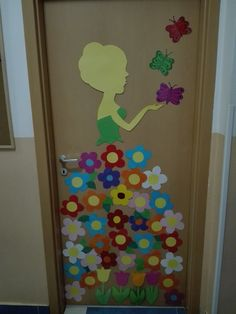 Tavaszi ajtódekor Decoration, Girls, Party, Paint, Decor, Toddler Girls, Daughters, Maids, Decorations