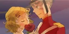 america and england in the toy soldier! So cute! Aph America, Hetalia England, And So It Begins, Hetalia Axis Powers, Anime Version, Usuk, History Class, Perfect World, Cute Anime Couples
