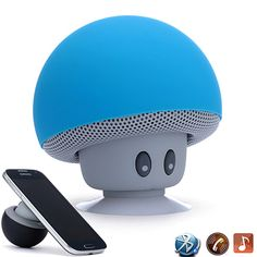 Put a smile on a loved one's face with these adorable character-filled BotBot Mini-Bluetooth Speakers. With a music playing time of over 3 hours without the need to recharge, and portable size that fits in your pocket, BotBot Speakers can become you or your loves confidant to enjoy music. These speakers also have a Built-In-Microphone to allow Speaker-Phone Calls and talking to friends/family