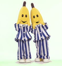 Bananas in Pajamas!