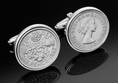 UK Sixpence Cufflinks