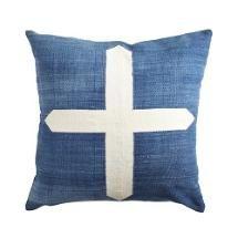 Dhurrie Pillow Cover – Cross
